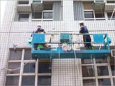 外墙清洗前的准备工作